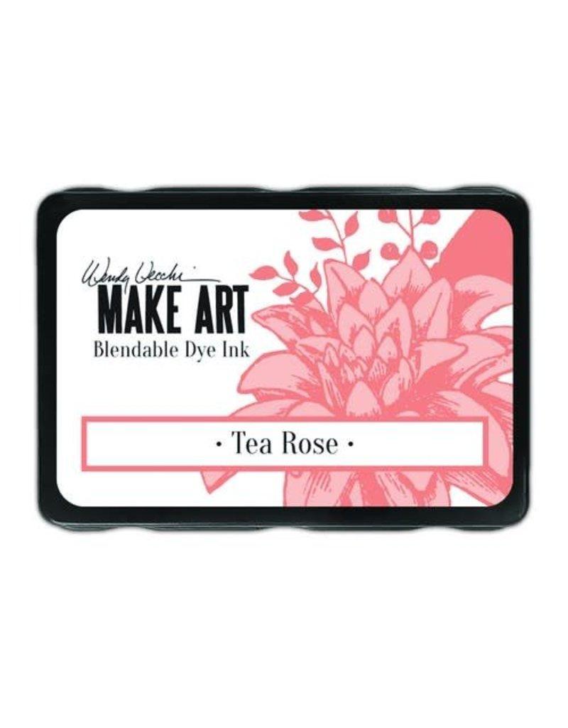 Ranger Ranger MAKE ART Dye Ink Pad Tea Rose WVD64381 Wendy Vecchi