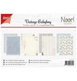 Joy Craft Joy Crafts Papierset - Design Vintage Babyboy 6011/0607