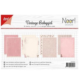 Joy Craft Joy Crafts Papierset - Design Vintage Babygirl 6011/0606