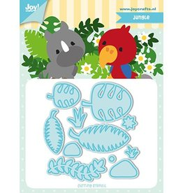 Joy Craft Joy Crafts Snijstencil - Jocelijne - TF - Jungle 6002/1194