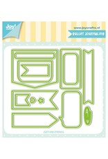 Joy Craft Joy Crafts Snijstencils - Jocelijne - Bullet Journaling 6002/1247