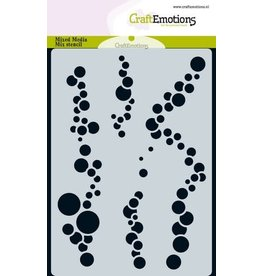 Craft Emotions CraftEmotions Mask stencil ocean - luchtbellen A6