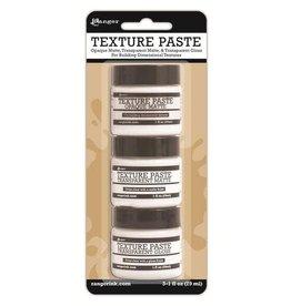 Ranger Ranger Texture Paste 3x1oz Tekst.Paste,Transp. Matte & Gloss