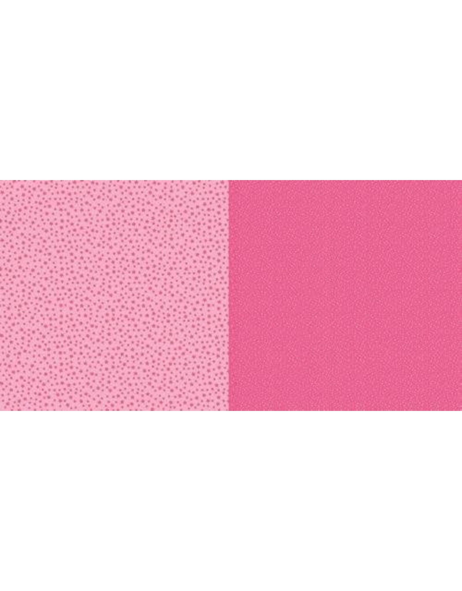 Craft Emotions Dini Design Scrappapier 10 vl Stippen bloemen - Watermeloen 30,5x30,5cm #2001