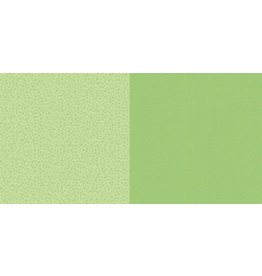Dini Design Dini Design Scrappapier 10 vl Stippen bloemen - Lime groen 30,5x30,5cm #2003