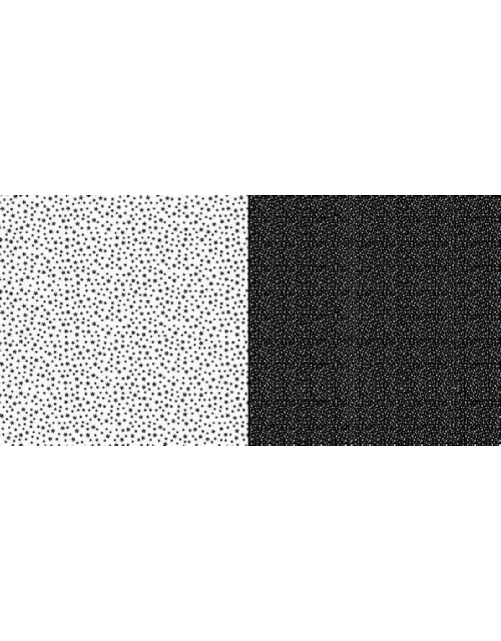Dini Design Dini Design Scrappapier 10 vl Stippen bloemen - Middernacht 30,5x30,5cm #2010