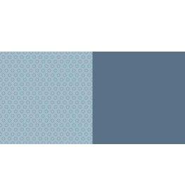 Dini Design Dini Design Scrappapier 10 vl Anker uni - Zweeds blauw 30,5x30,5cm #3006