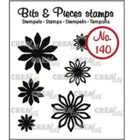 Crealies Crealies Clearstamp Bits & Pieces 6x Mini Bloemen 17 CLBP140 max. 20 mm