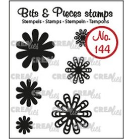 Crealies Crealies Clearstamp Bits & Pieces 6x Mini Bloemen 22 CLBP144 max. 20 mm