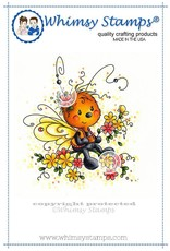 Wimsy Stamps Whimsy Stamps Mariposa Rubber Cling Stamp SWZS189