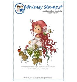 Wimsy Stamps Whimsy Stamps Veritas Rubber Cling Stamp SZWS210