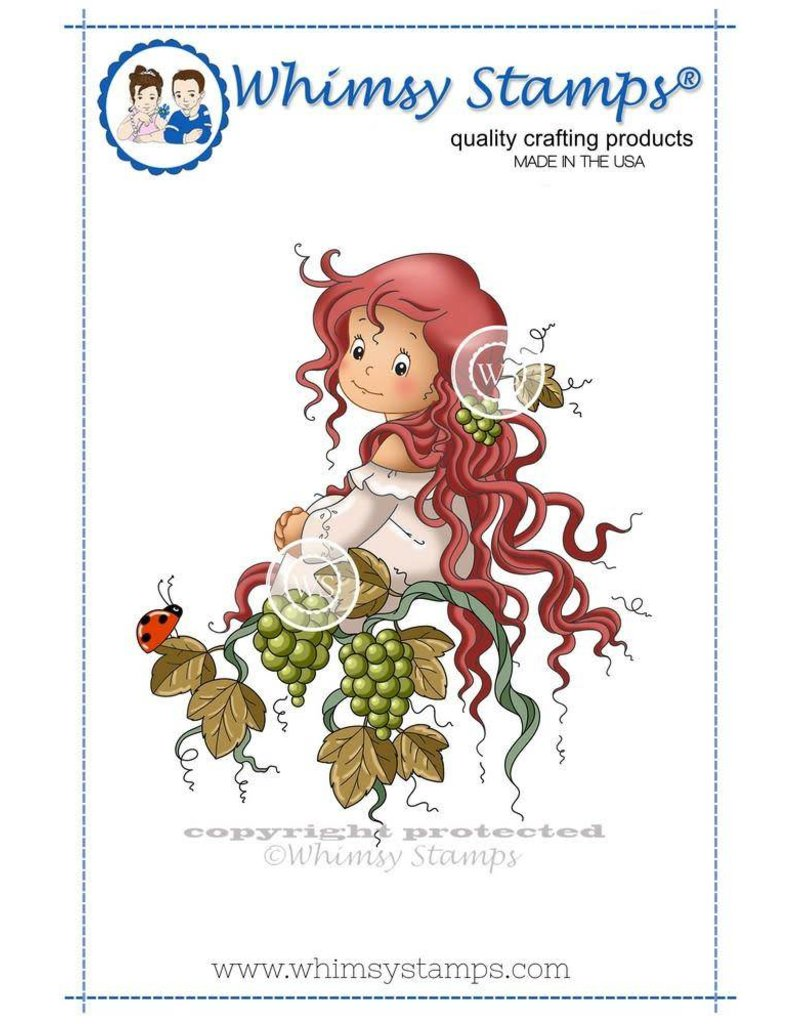 Whimsy Stamps Whimsy Stamps Veritas Rubber Cling Stamp SZWS210