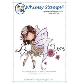Whimsy Stamps Whimsy Stamps Giselle the Fairy Rubber Cling Stamp MF117