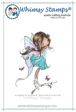 Wimsy Stamps Whimsy Stamps Faye the Fairy Rubber Cling Stamp MF116