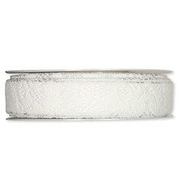 Halbach Halbach Printed (Cotton)Ribbon Lace, White