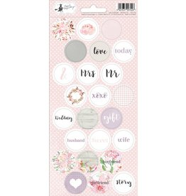 Piatek Piatek Sticker sheet Love in Bloom 03