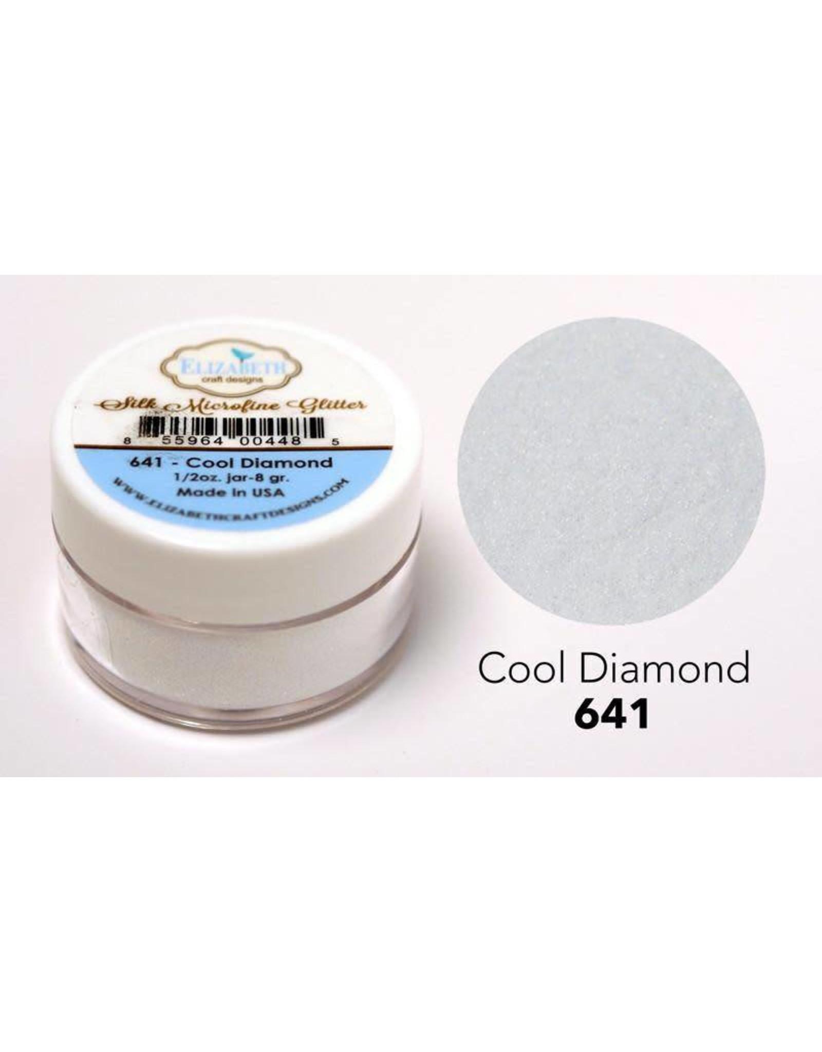 Elizabeth Craft Designs Elizabeth Craft Designs  Cool Diamond - Silk Microfine Glitter 641