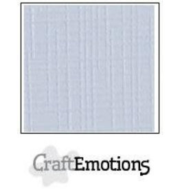 Craft Emotions CraftEmotions linnenkarton 10 vel klassiek wit 27x13,5cm