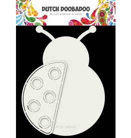 Dutch Doobadoo Dutch Doobadoo Card art Lieveheersbeestje A5 470.713.709