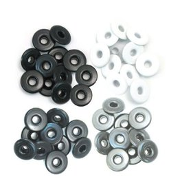 We R Memory keepers We R Memory Keepers wide eyelets x40 grey