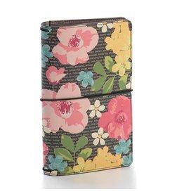 Carpe Diem Carpe Diem Typewriter Floral Traveler's Notebook