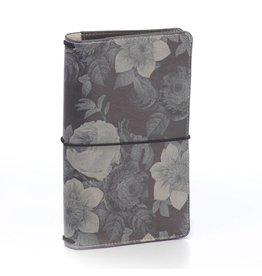 Carpe Diem Carpe DiemBlack Vintage Floral Traveler's Notebook