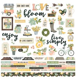 Simple Stories Simple Stories Spring Farmhouse Collection Kit
