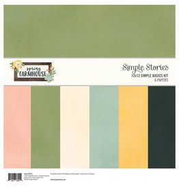 Simple Stories Simple Stories Spring Farmhouse Simple Basics Kit
