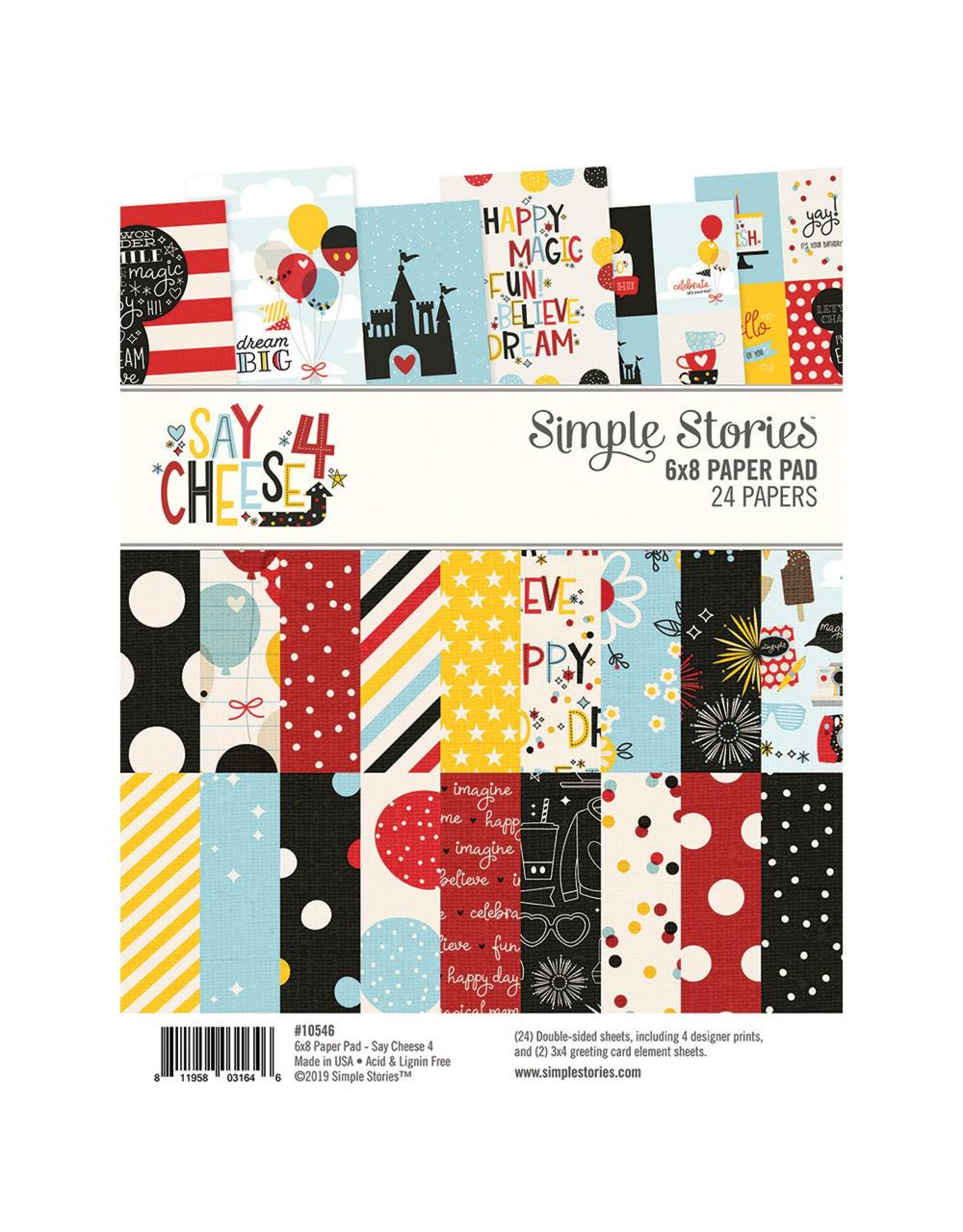 Simple Stories Simple Stories Say Cheese 4 6x8 Pad