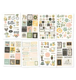 Simple Stories Spring Farmhouse 4x6 Stickers
