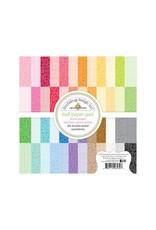 Doodlebug Doodlebug Floral-Graph Rainbow Petite Prints 6x6 Paper Pad