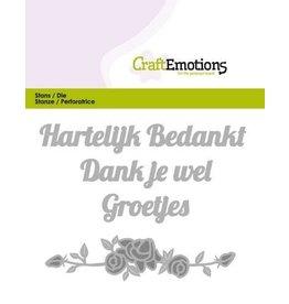 Craft Emotions craftemotions-die-tekst-hartelijk-bedan