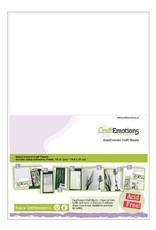 Craft Emotions Craft Emotions Adhesive Zelfklevend A4 tweezijdig papier 21*29,7