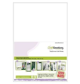 Craft Emotions Craft Emotions Adhesive Zelfklevend A4 tweezijdig papier 21*29,7