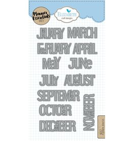 Elizabeth Craft Designs Elizabeth Craft Designs Planner Months 1657