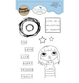 Elizabeth Craft Designs Elizabeth Craft Designs planner clearstamps My Life CS137