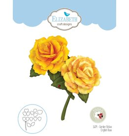 Elizabeth Craft Designs Elziabeth  Craft Designs Garden Rose - English Rose 1639