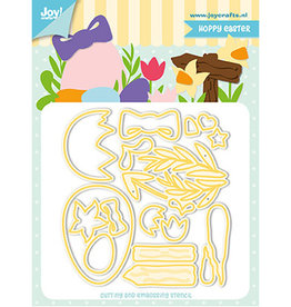Joy Craft Joy Crafts Pasen Jocelijne - Hoppy Easter 6002/1272