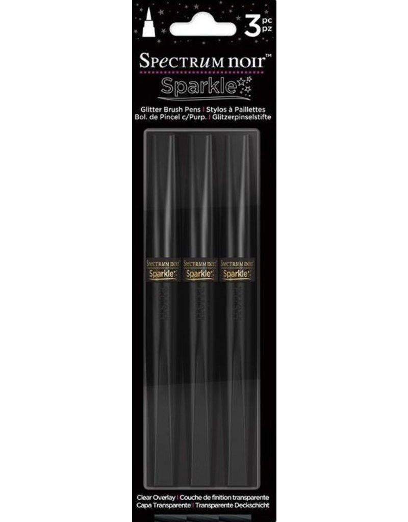 spectrum noir Spectrum Noir Sparkle (3pk) - Clear Overlay