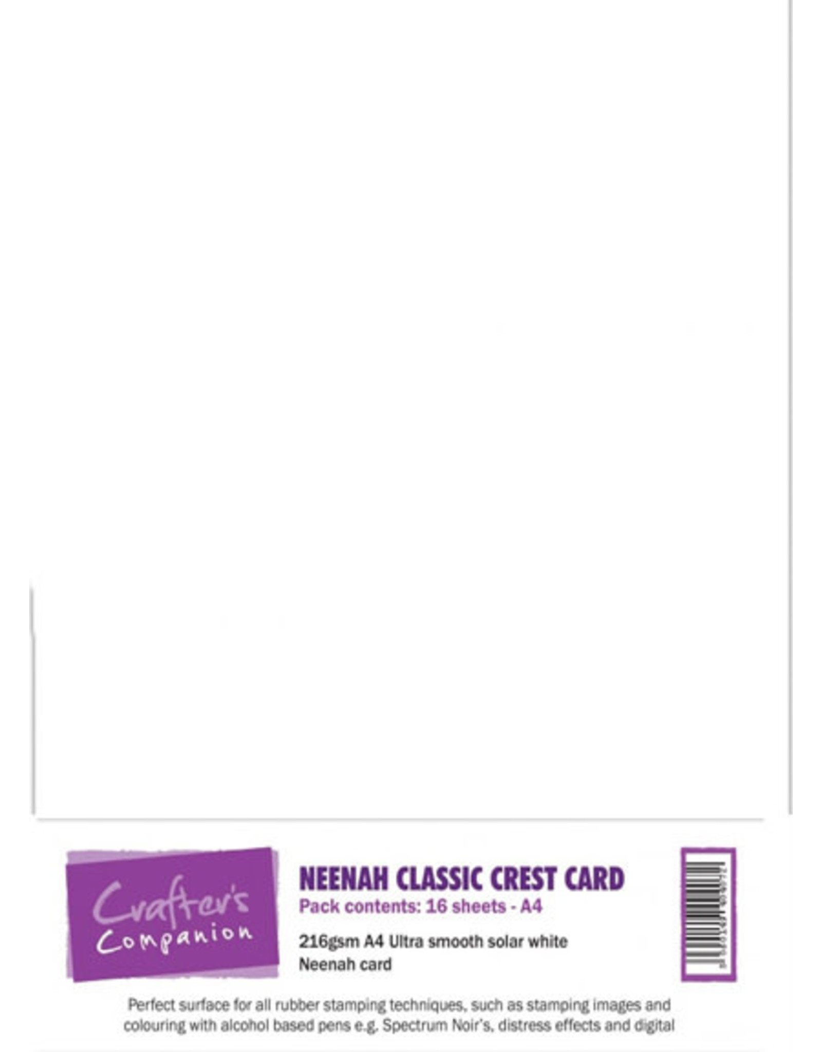 crafter's companion Neenah Classic Crest Card A4