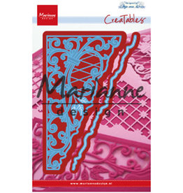 Marianne Design Marianne D Creatable Anja`s swirl hoek LR0584 135x63mm