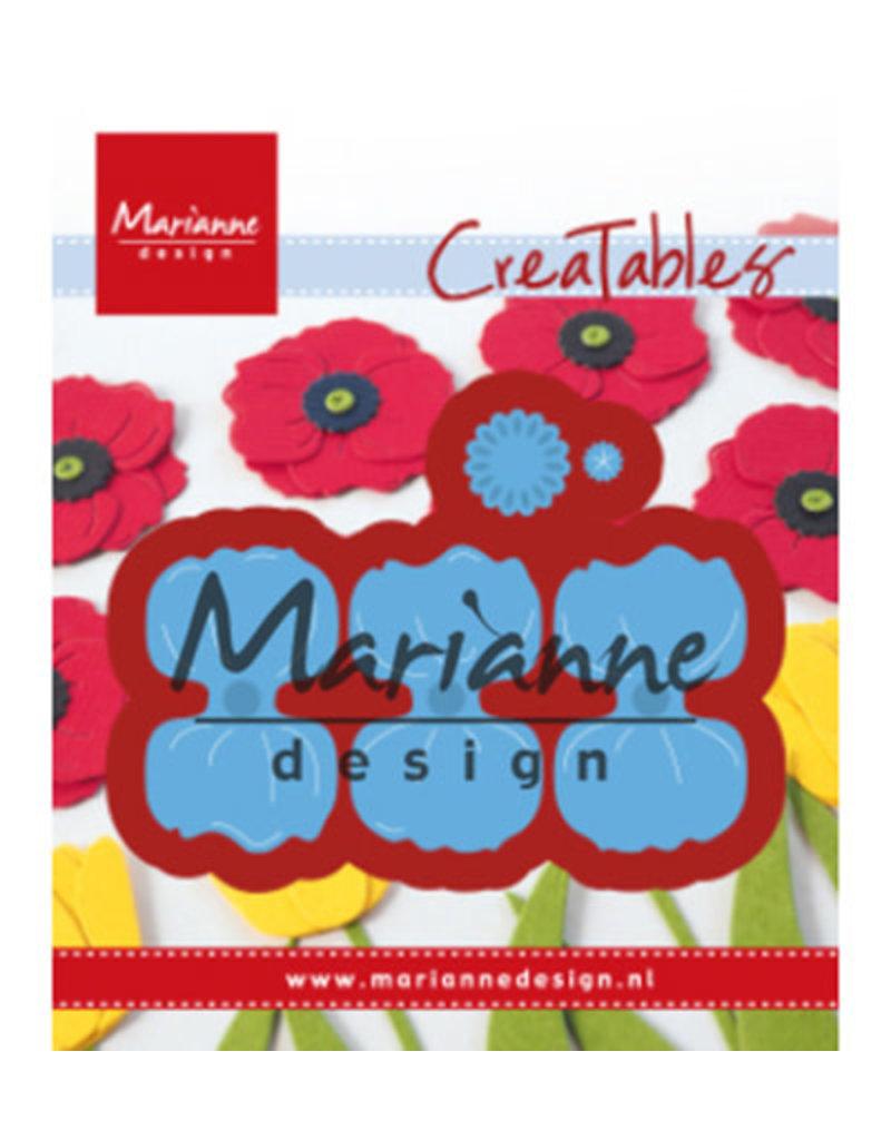 Marianne Design Marianne D Creatable Klaproos LR0587 35mm