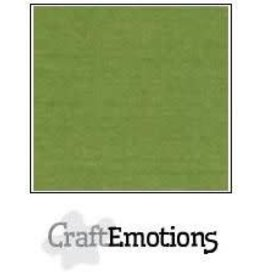 Craft Emotions CraftEmotions linnenkarton  mosgroen LHC-45 A4