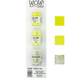 Wow WoW! Trio's sets  Melon Ice WOWKT018