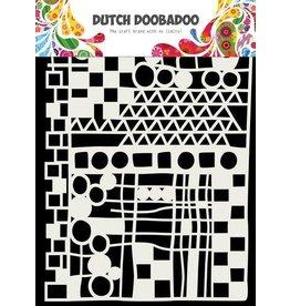 Dutch Doobadoo Dutch Doobadoo Dutch Mask Art Geo Mix - abstract A5 470.715.137