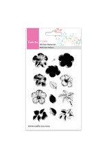Crafts-Too Crafts Too 3D Clearstamp Set - Multi Hibiscus (13pcs)