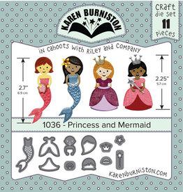 Karen Burniston Karen Burniston Princess and mermaid  1036