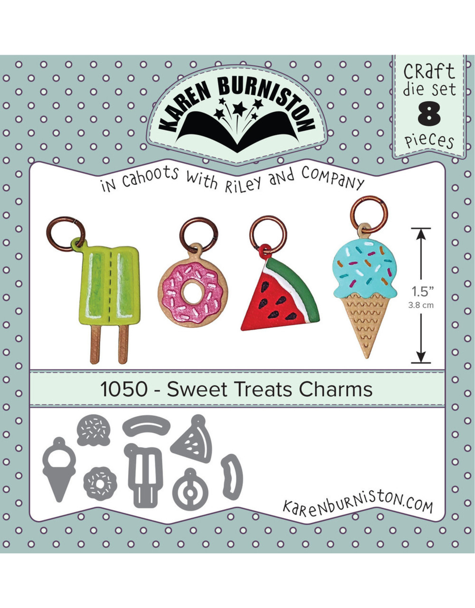Karen Burniston Karen Burniston sweet treats charms 1050