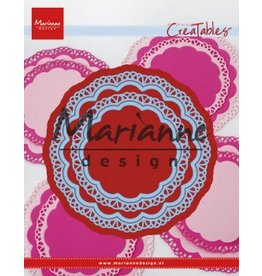 Marianne Design Marianne D Creatable Doily duo LR0592 105x105mm