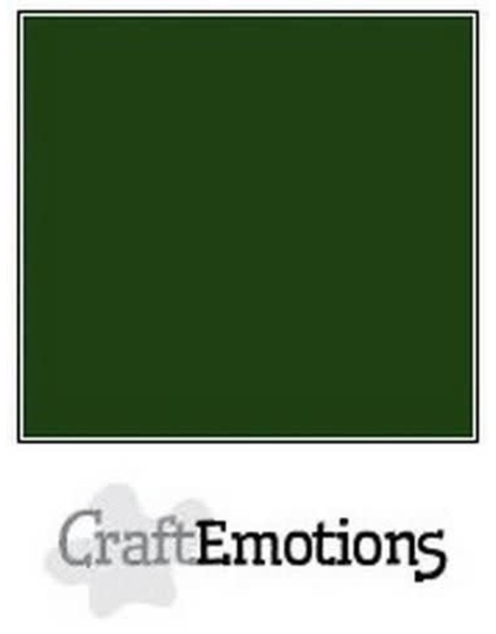 Craft Emotions CraftEmotions karton gladkarton  smaragdgroen 30,0x30,0cm 250gr